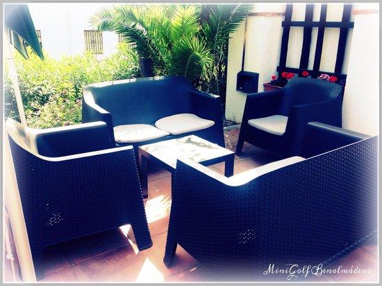 Playa Mini Golf Espana: New furniture
