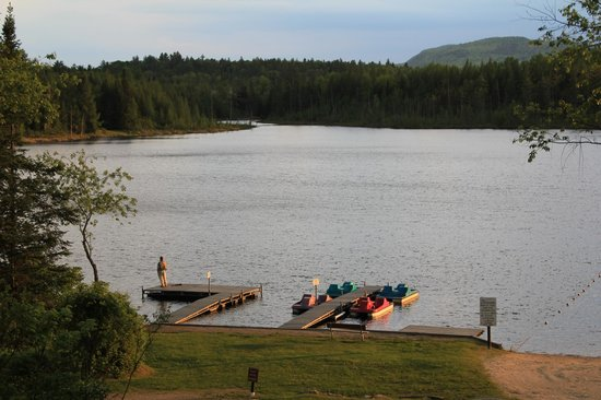 Mountain Lake Campground and RV Park : View of the Lake