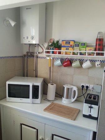Liberdade Guesthouse : Cocina
