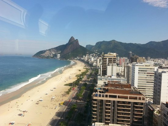 Sofitel Rio de Janeiro Ipanema: A vista do restaurante do hotel