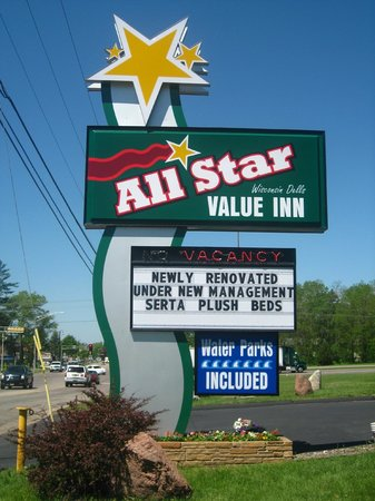 All Star Inn & Suites: Our Sign