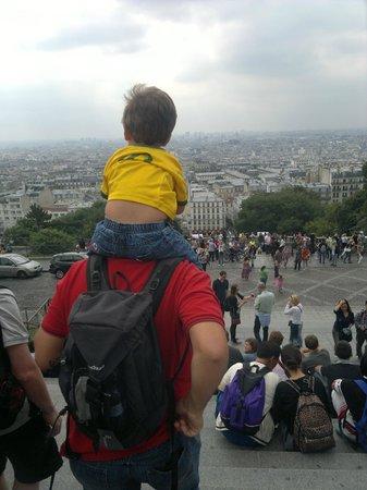 Basilique du Sacré-Cœur de Montmartre : Paris aos seus pés