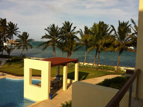 The Phoenix Resort: View from the balcony