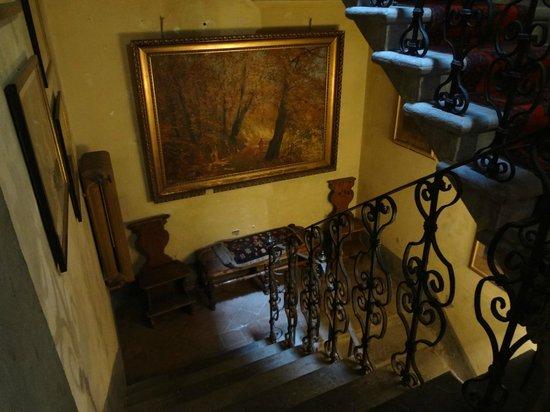 Hotel Fabbrica di San Martino: Interior de la casa principal