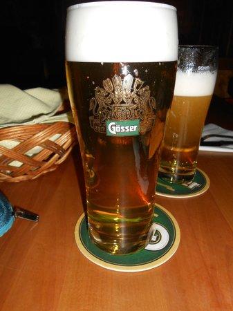 Reinthaler's Beisl: Ottima la birra!