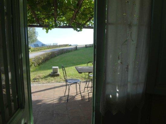 Hotel Fabbrica di San Martino: Salida a la galeria y a los viñedos