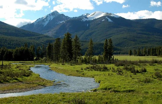 Western Riviera Lakeside Lodging & Events: The Meadow above Adams Falls in Grand Lake