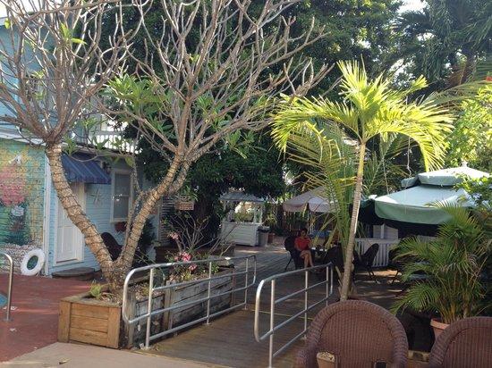 Wicker Guesthouse : Café e área comum