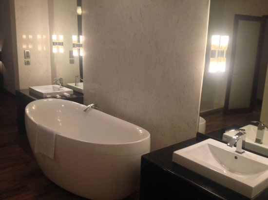 The Fortress Resort & Spa : The bathroom