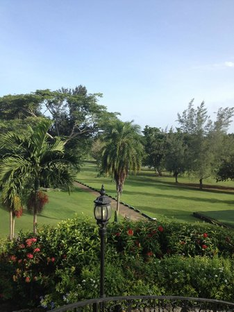 Sandals Golf & Country Club: The view from the club house