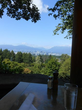 View from the porch at the Seasons in the Park Restaurant