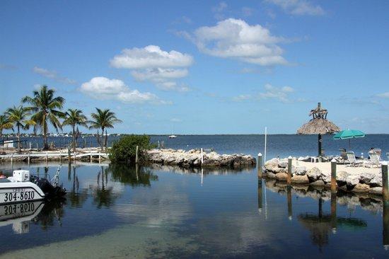 Amoray Dive Resort: Vue sur le quai.