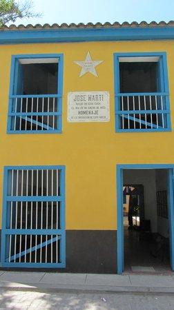 House of Jose Marti (Casa Natal De Jose Marti): L'ingresso della casa dell'Apostolo di Cuba