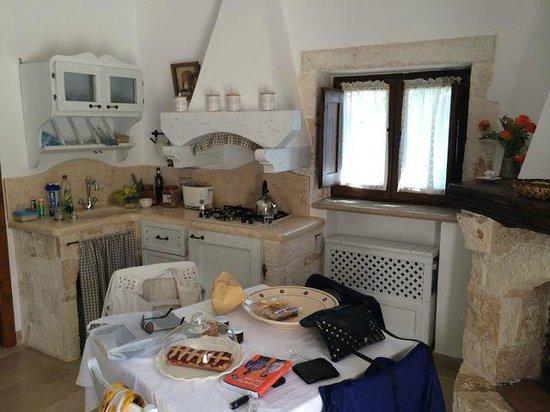 Il Trullo dei Messapi: Kitchen
