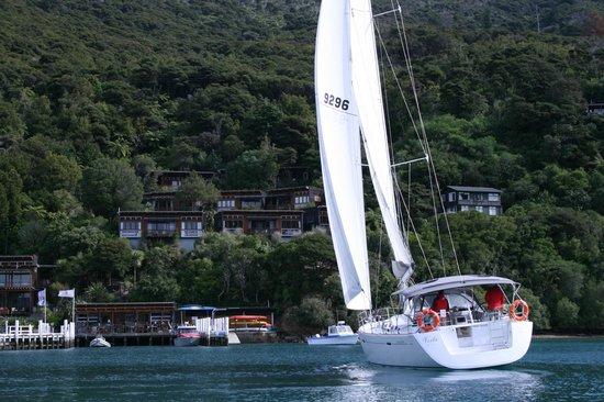 Bay of Many Coves: Sailing