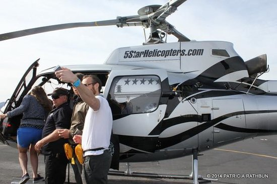5 Star Grand Canyon Helicopter Tours: All Aboard