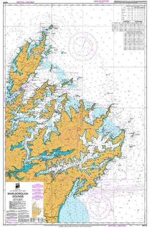 Bay of Many Coves: Map of the Queen Charlotte Sound, Marlborough