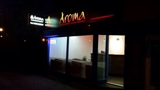 Aroma: Authentic food