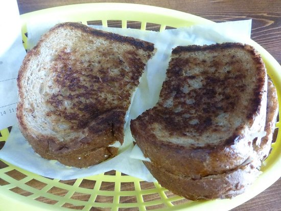 Surf Bagel And Deli: Grilled Cheese Surf Bagel