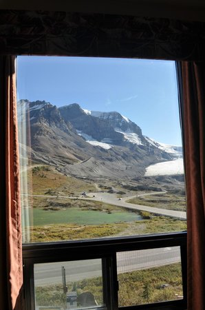 The Glacier View Inn: View from room