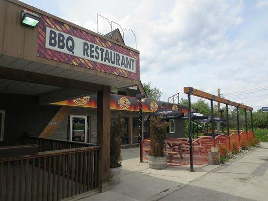 Fire Pit BBQ Smokehouse : Street View