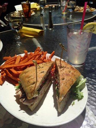 Crossings At The Riverhouse: Roasted Gobbler Sandwich
