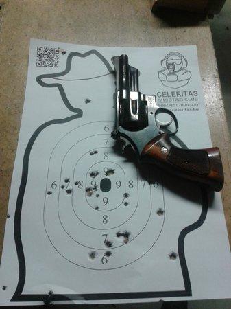 Celeritas Shooting Club : Le résultat des petits callibres