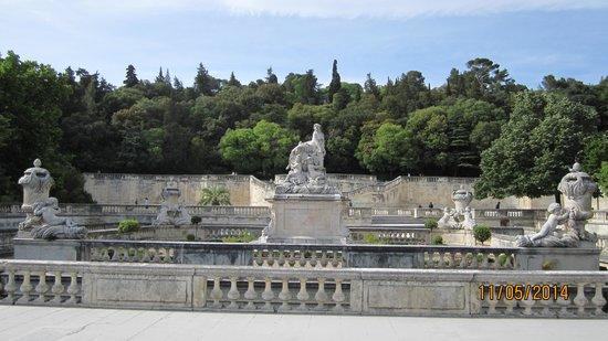 Jardins de la Fontaine : view