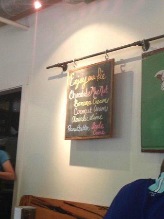 Leoda's Kitchen and Pie Shop: Pie Flavors