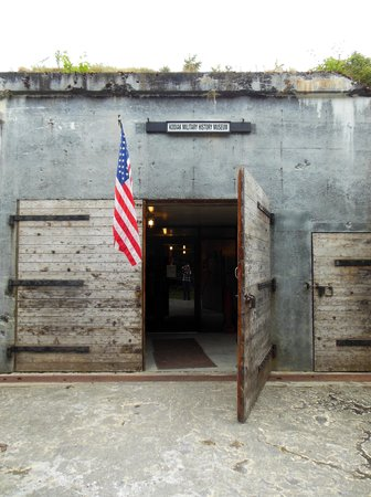 Fort Abercrombie State Park: WWI Bunker/Museum Entrance