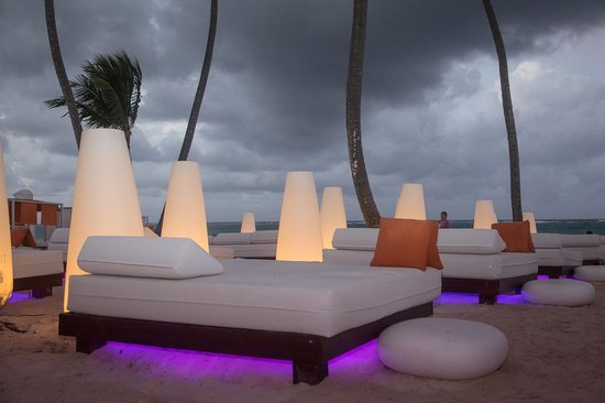 Paradisus Punta Cana Resort: Glow In The Dark Furniture