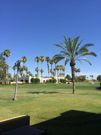 The Wigwam : Looking Over Tee Box #1 To Golf Pro Shop