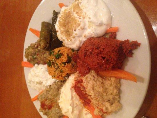 Anatolian Kitchen: Appetizer mix
