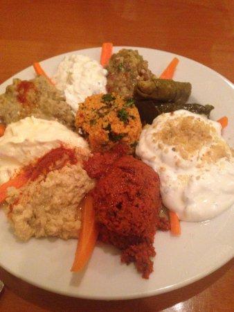 Anatolian Kitchen : Appetizer mix