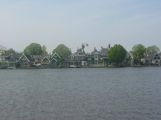 Homes looking out from Zaanse Schans