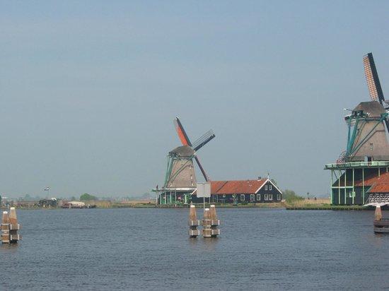 Zaanse Schans : Windmills at Zannse Schans