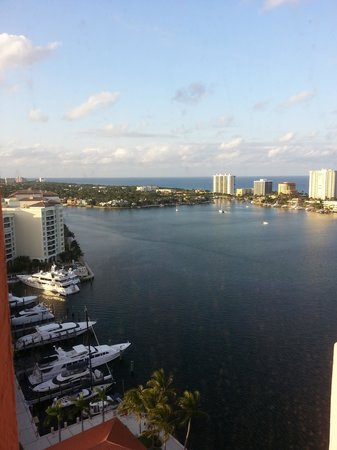 Boca Raton Resort, A Waldorf Astoria Resort : View of the Marina