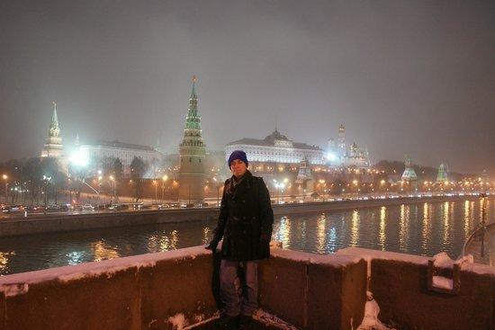 Kremlin Walls and Towers : Ponte com boa vista para fotos do Kremlin