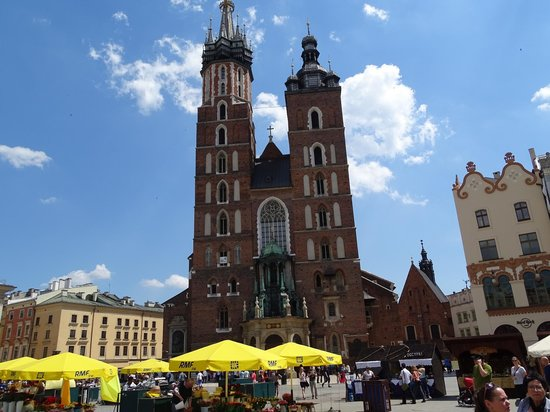 Krakow Tours : One of the famous churches of Krakow
