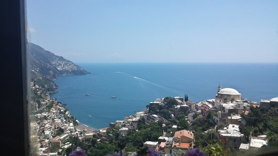 Aim Limo Rome Tours : Amalfi Coasts. Our view from the restaurant.