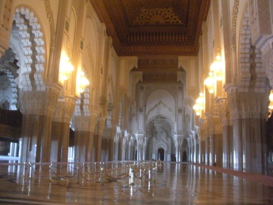 Mosquée Hassan II : Main part of the mosque