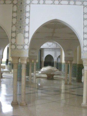 Mosquée Hassan II : Ceremonial baths
