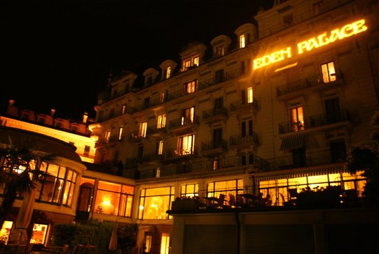 Eden Palace au Lac: At night