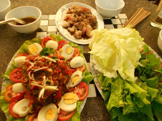 Chilllao Youth Hostel Guesthouse: Vietnamese food