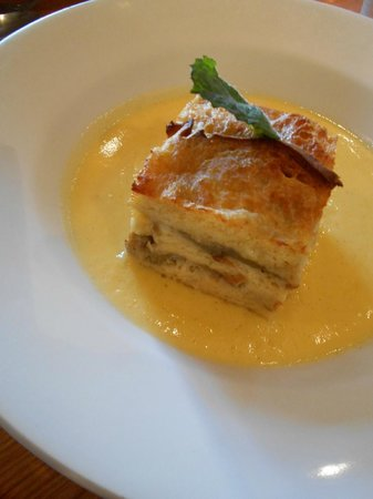 The Malt Shovel: Exquisite Bread and Butter pudding