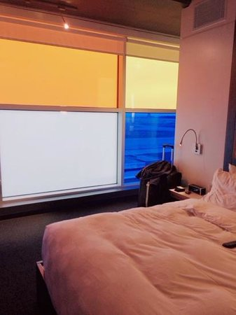 ALT Hotel Halifax Airport: colourful window