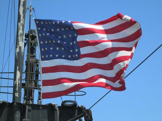 S.S. John W. Brown: Rare 48 Star Flag