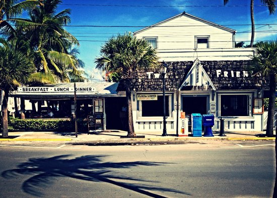 Two Friends Patio Restaurant : Two Friends...A Key West icon & tradition...