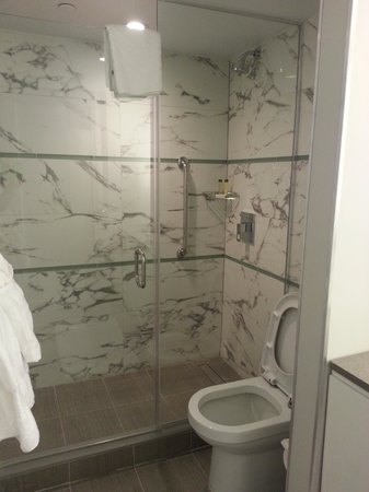 Waterstone Resort & Marina Boca Raton, Curio Collection by Hilton: Large walk-in shower