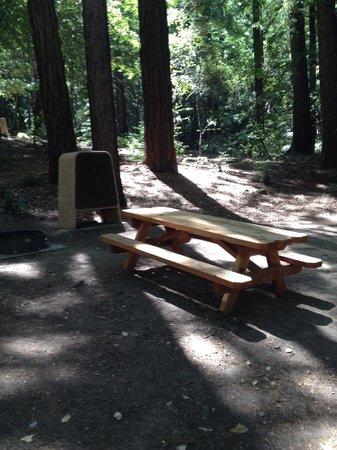 Sanborn Park : Walk in camp site
